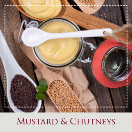 Cotswold produce - mustard and chutneys