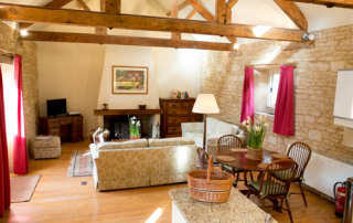 The Granary Aylworth Sitting Room