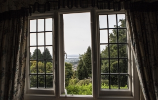 Stinchcombe Hill House window