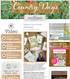 Country Homes and Interiors Awards Shortlisted