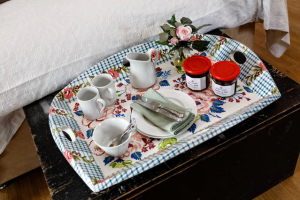 August Farmhouse Garden Cabin Afternoon Tray