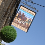 The Kingham Plough Exterior Sign