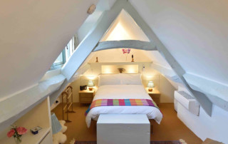 Cosy Corner Cottage, Evenlode, Master Bedroom